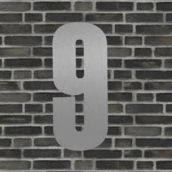 Sølv husnummer 40 cm - 9 fra natives fra fenomen