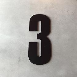 uashmama Husnummer 3 sort - 20 cm på fenomen