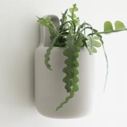 Image of   DBKD handle urtepotte til væg - hvid large