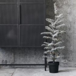 Billede af Juletræ med sne og lys House Doctor