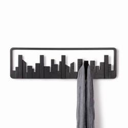 Skyline knagerække - sort fra umbra fra fenomen