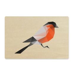 Image of   ArtBoard kort - Dompap