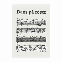 Image of Kort - Dans på roser