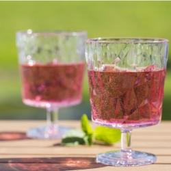 Image of   Klart vinglas i plast - Koziol