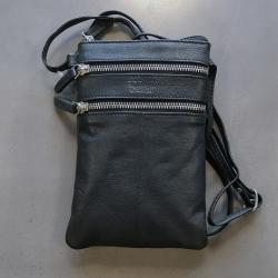 Image of   Læder taske Corium - sort