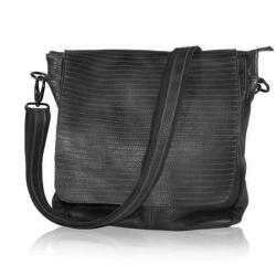 black colour – Sort læder taske fra fenomen