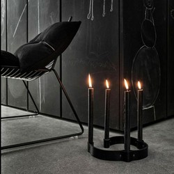Image of   Belt 4 Candles By Wirth - sort