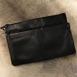 Lækker sort lædertaske - corium fra corium fra fenomen