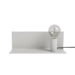 Flash lampe til væg - lys grå fra muubs fra fenomen