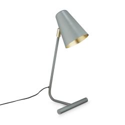 h. skjalm p – Lampe i støvgrøn og messing fra fenomen