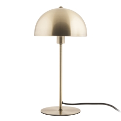 Image of   Bonnet bord lampe - antik gold