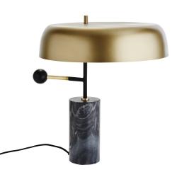 Image of   Lampe i messing og marmor