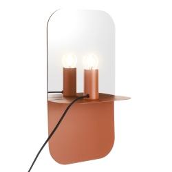 house doctor – Væglampe plate - brun fra fenomen