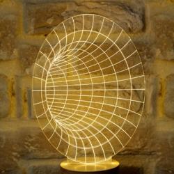 Bulbing lampe - tunnel højtaler fra bulbing på fenomen