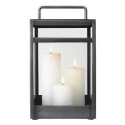 Lanterne Cozy Living grey - medium