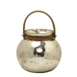 by wirth Tealight i antik sølv fra fenomen