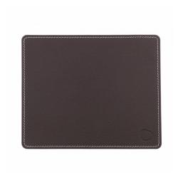 lind dna – Musemåtte firkantet - mørk brun læder fra fenomen