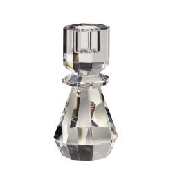 hübsch – Lysestage i klar glas - hübsch fra fenomen