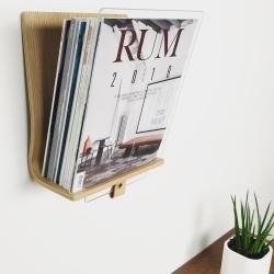 rath & stok Read magasinholder i egetræ på fenomen