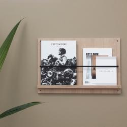 Image of   A-Magazine Gallery - magasinholder til væg