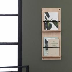 Image of   A-Magazine Gallery - træ magasinholder til væg