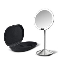 Simplehuman bordspejl med sensor og lys fra simplehuman på fenomen