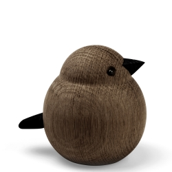 Image of   Mama sparrow - røget egetræ