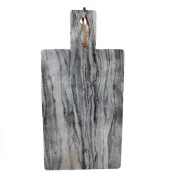 Image of   Marmor skærebræt - grå