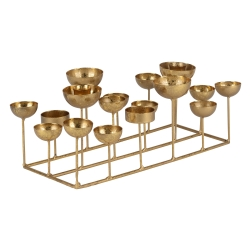 gift company – Medusa gold lysestage firkantet - small fra fenomen