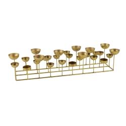 gift company – Medusa gold lysestage - firkantet på fenomen