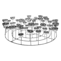 Medusa sølv lysestage - large fra gift company fra fenomen
