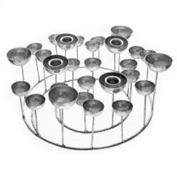 gift company – Medusa sølv lysestage - small på fenomen