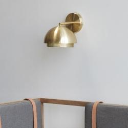 hübsch Væglampe hübsch - messing på fenomen
