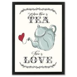 Plakat - Tea and Love