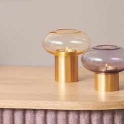Mush lysestage amber og messing - medium fra applicata på fenomen