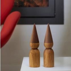 Image of   By Brorson træ nisse - 18 cm