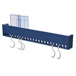 nomess – So-hooked wall rack 60 knagerække - blå fra fenomen
