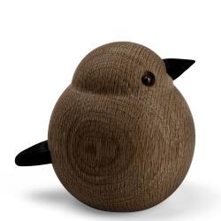 Image of   Papa sparrow - røget egetræ
