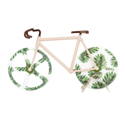Image of   Pizza skærer Fixie - Tropical vintage cykel