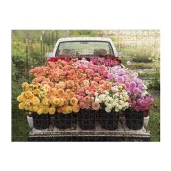 Puslespil - Cut Flower garden 500 brikker