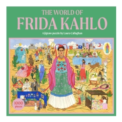 Puslespil the world of frida kahlo fra zone på fenomen