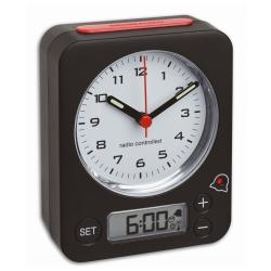 Image of   Radiostyret vækkeur med digital alarm - Combo