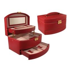 Image of   Rødt smykkeskrin