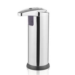 Image of   Sæbedispenser med sensor - blank sølv