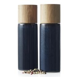 Image of   Bitz salt og peber sæt - blå