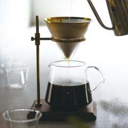 Kaffe brewer stand sæt fra kinto fra fenomen