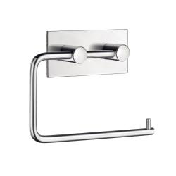 Image of   Toiletrulleholder med selvklæbende bagside - blank
