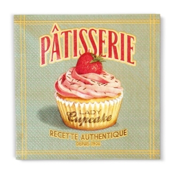 Image of   Servietter Lady Cupcake