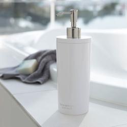 yamazaki – Shampoo dispenser tower - hvid på fenomen
