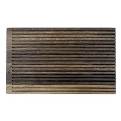 Skærebræt med riller røget egetræ - By Brorson